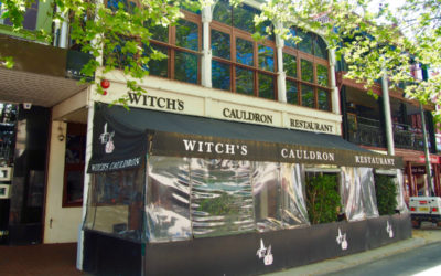 Witchs Cauldron exterior