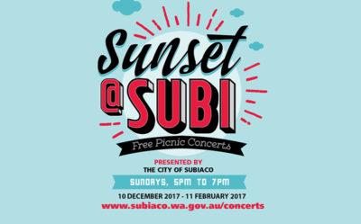 Sunset at Subi